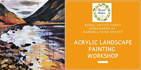 Acrylic Landscape Painting Workshop tickets