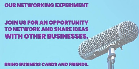 Our Networking Experiment tickets