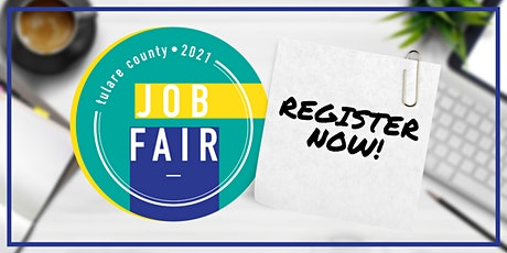 Tulare County Job Fair - Business Registration tickets