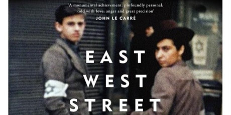 BOOKNIGHT: EAST WEST STREET by PHILIPPE SANDS tickets