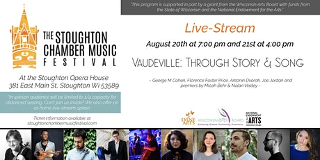 Vaudeville: Throught Story & Song (Live-Stream) tickets