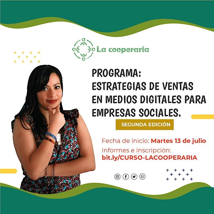 Imagen de Programa: ESTRATEGIAS DE VENTAS EN MEDIOS DIGITALES PARA EMPRESAS SOCIALES