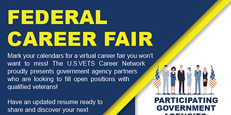 U.S.VETS Federal Career Fair tickets