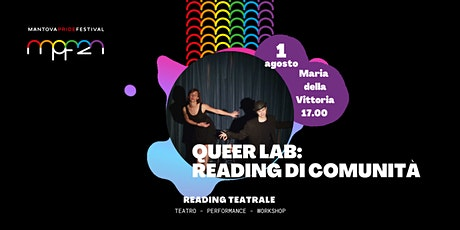 Queer Lab: reading di comunità biglietti