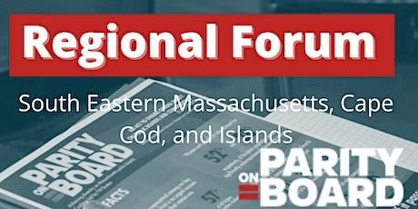 Parity on Board Regional Forum: SE Massachusetts, Cape Cod, and Islands tickets