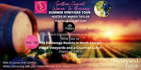 Southern Crescent Women Summer Vineyard Tour Hosted By Margo Taylor tickets