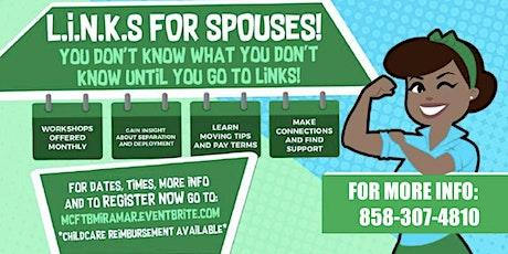 L.I.N.K.S. FOR SPOUSES -NOVEMBER tickets