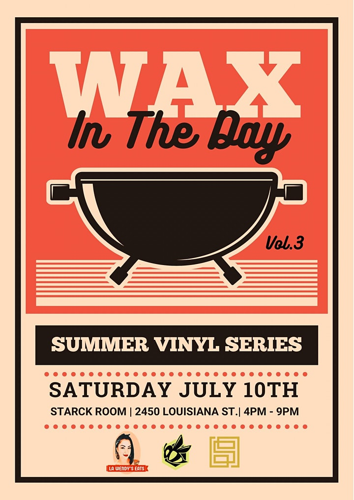 WAX IN THE DAY SUMMER VINYL SERIES image
