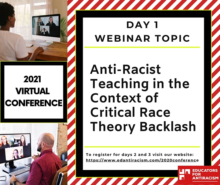 Educator Antiracism Conference Day 1 image