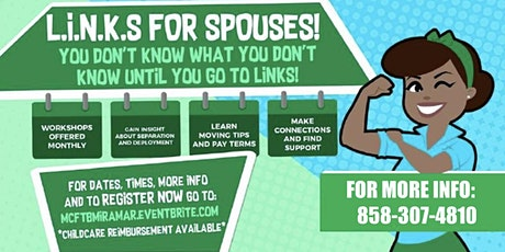 L.I.N.K.S. FOR SPOUSES AND COOKIE SWAP tickets