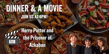 Dinner & a Movie - Harry Potter 3 tickets