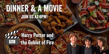 Dinner & a Movie - Harry Potter 4 tickets