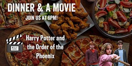 Dinner & a Movie - Harry Potter 5 tickets