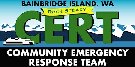 Bainbridge Island CERT Basic Training Fall 2021 tickets