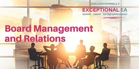 Great Expectations: Board Management and Relations, with Shelagh Donnelly tickets