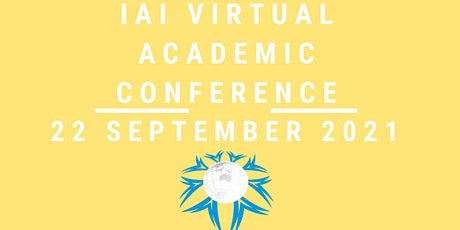 International VIRTUAL Academic Conference  September 22,  2021 tickets