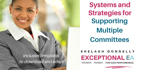 Systems and Strategies for Effectively Supporting Multiple Committees tickets