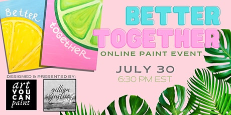 Better Together PAINT NIGHT tickets
