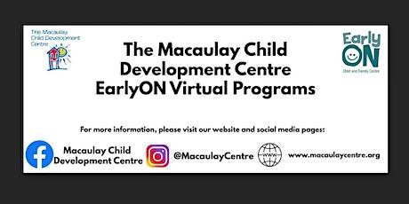 Macaulay Child Development Centre: EarlyON: Circle Time Program tickets