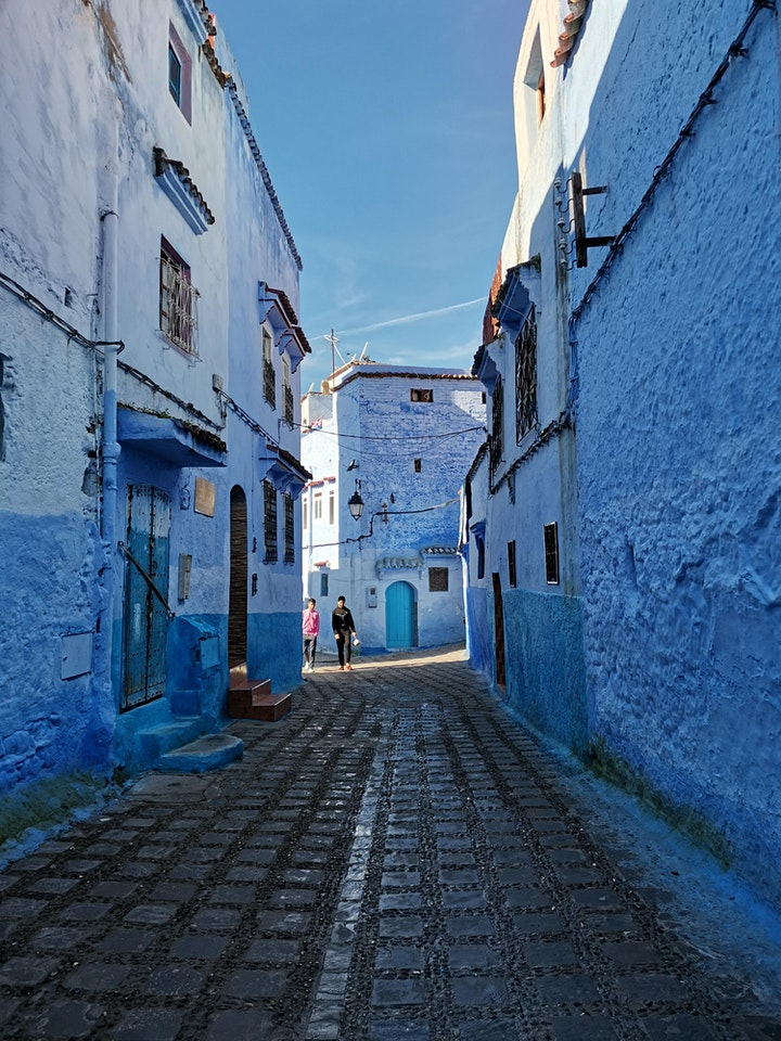 Live tour to the Blue City, Chefchaouen! image