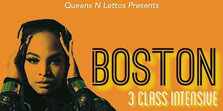 BOSTON 3 Class Intensive | Beginners tickets