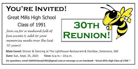Great Mills High School Class of 1991 30th Reunion tickets