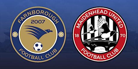 Farnborough vs Maidenhead United tickets