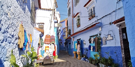 Live tour to the Blue City, Chefchaouen! tickets