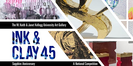 Ink & Clay 45 Sapphire Anniversary Zoom Event Reception tickets