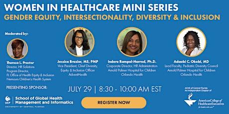Women in Healthcare Leadership Mini-series: tickets