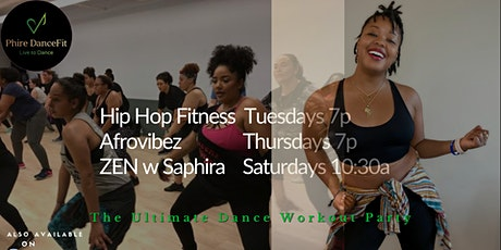 Hip Hop Fitness in Plano. Fire workout! Fun! Sweat. Burn Calories tickets