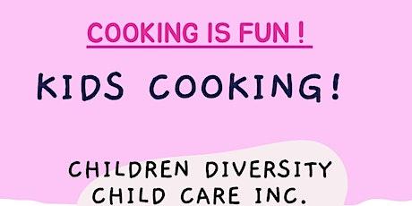 Kids Cooking Class-Waffles tickets