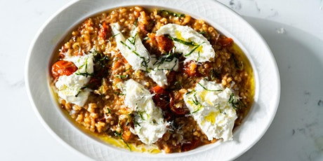 FREE Cooking Class: Homemade Tomato Risotto with Burrata and Basil tickets