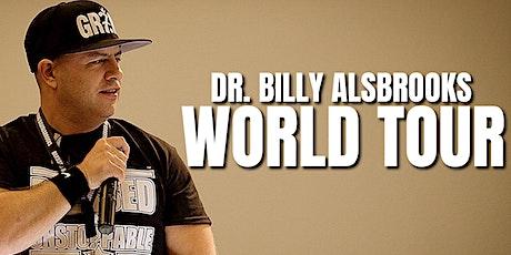 (PARIS) BLESSED AND UNSTOPPABLE: Billy Alsbrooks Motivational Seminar billets