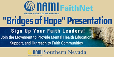 "NAMI FaithNet ""Bridges of Hope"" Presentation tickets"