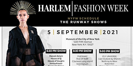 The Harlem Fashion Week Experience 2021 tickets