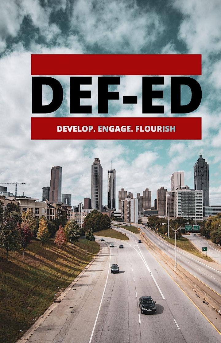 DEF-ED Magazine Launch image