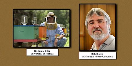 Cabarrus Beekeepers Present: Dr. Jamie Ellis and Bob Binnie tickets