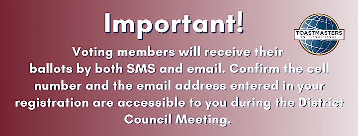 District Council / Le Conseil d'administration de district image