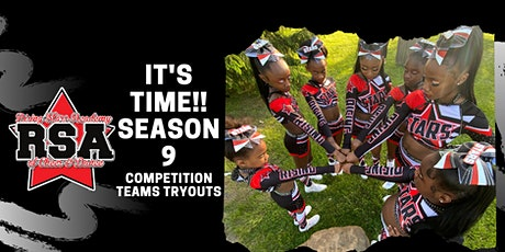 RISING STARS ACADEMY OF CHEER & DANCE SEASON 9 TEAM TRYOUTS tickets