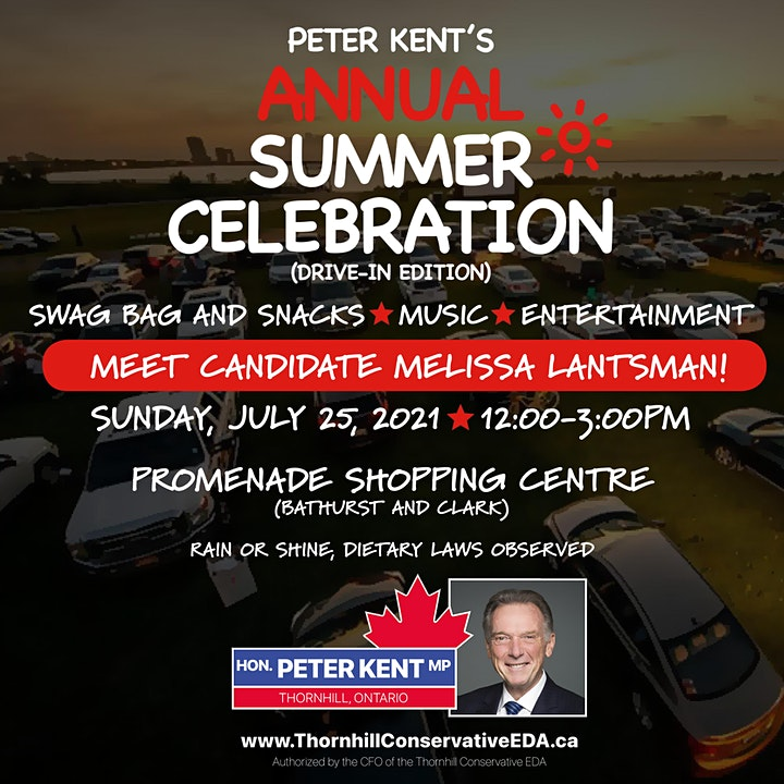 Peter Kent's Annual Summer Celebration image
