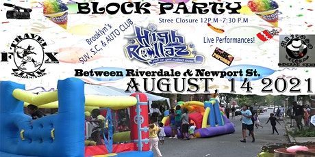 Hinsdale's Annual Block Party. tickets