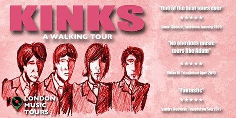 The Kinks – A Walking Tour tickets
