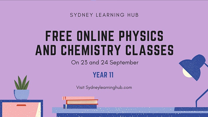 HSC Physics and HSC Chemistry Online [Year 11] image
