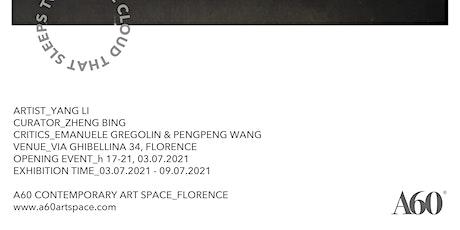 Touch The Cloud That Sleeps, Yang Li Personal Exhibition biglietti