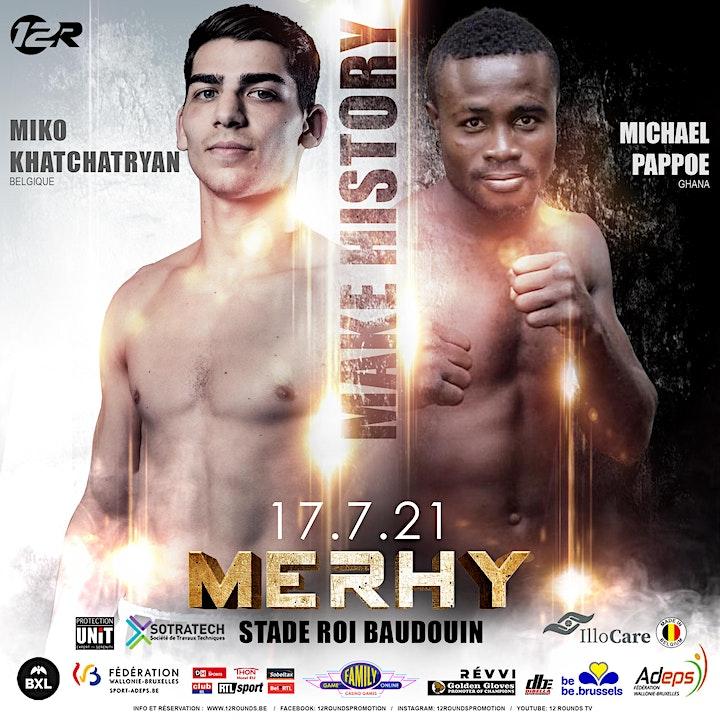 Image pour Make History : Championnat du monde WBA Ryad Merhy