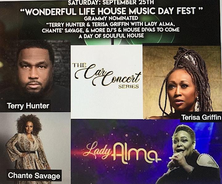 Wonderful Life House Music Day Fest (Car Concert) image