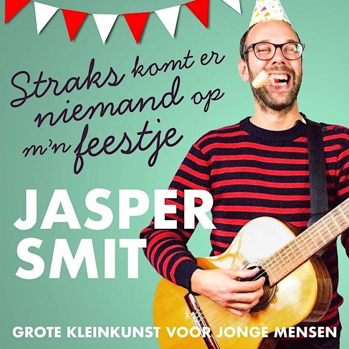 Afbeelding van Straks komt er niemand op mijn feestje 8+ - Jasper Smit