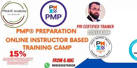 PMP® Project Management Professional (Authorized Training by ATP) tickets