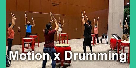 Motion x Drumming Class tickets